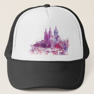 Amsterdam The Church of St Nicholas Trucker Hat
