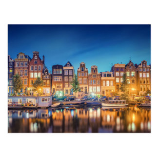 Amsterdam the Netherlands Postcard