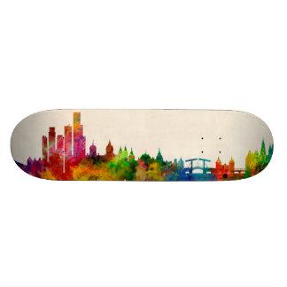 Amsterdam The Netherlands Skyline Skateboard