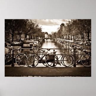 Amsterdam Transportation Poster