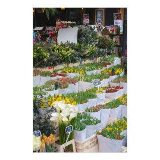Amsterdam Tulip Market Full Color Flyer