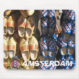 Amsterdam Wooden Shoes Photo Mousepad
