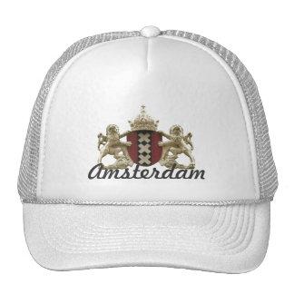 Amsterdam xxx City Emblem Cap Mesh Hats