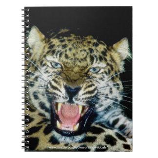 Amur Leopard Notebook