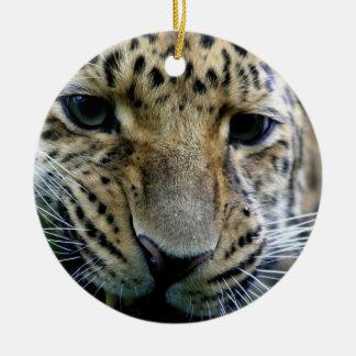 Amur Leopard Ornaments