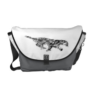 Amur Tiger#2 Courier Bags