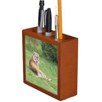 Amur Tiger Desk Organiser
