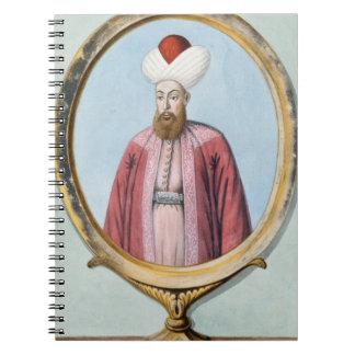 Amurath (Murad) I (1319-89), Sultan 1359-89, from Notebook