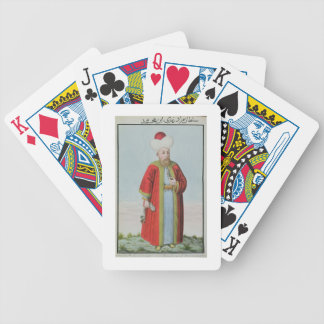 Amurath (Murad) II (1404-51) Sultan 1421-51, from Bicycle Playing Cards