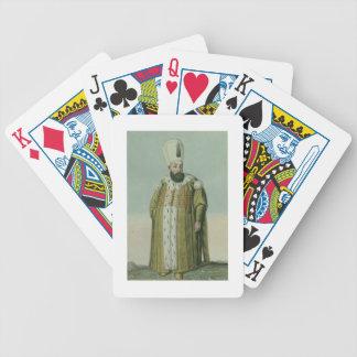 Amurath (Murad) III (1546-95) Sultan 1574-95, from Poker Deck