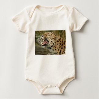 amure leopard baby bodysuit