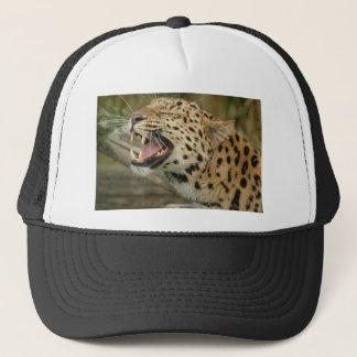 amure leopard trucker hat