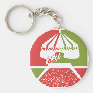 amusement circus tent key chains