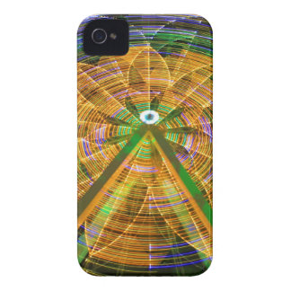 Amusement Ferris Wheel iPhone 4 Case-Mate Case