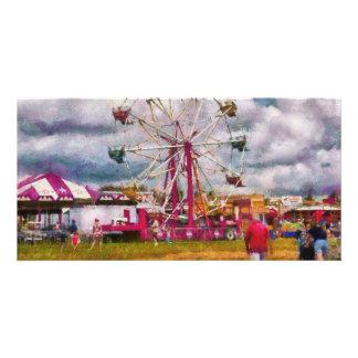 Amusement - Ferris Wheel Fun Picture Card