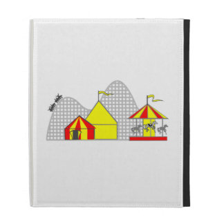Amusement Park iPad Folio Covers
