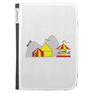Amusement Park Kindle Folio Cases
