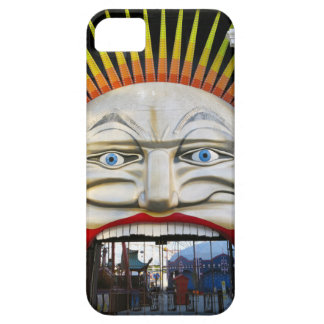 Amusement Park Entrance - Crazy Face iPhone 5 Cases