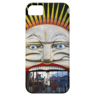 Amusement Park Entrance - Crazy Face iPhone 5 Cases