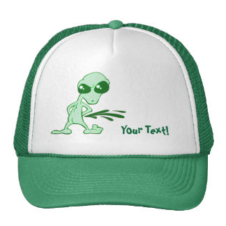 Amusing  Alien Antics Novelty Designs Hats