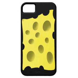 Amusing and tasty yellow cheese with holes iPhone 5 covers