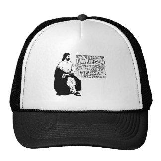 Amusing atheist cap