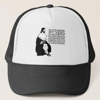 Amusing atheist trucker hat
