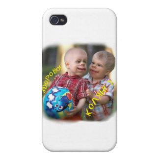 Amusing kiddies case for iPhone 4