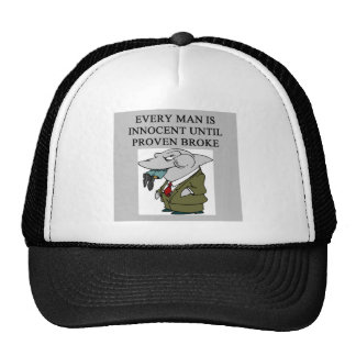 amusing lawyers / attorneys design cap