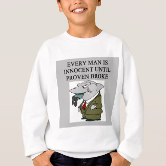 amusing lawyers / attorneys design sweatshirt