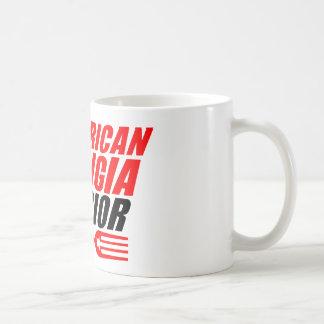 AMW 11 oz Coffee Mug w/ Red & Black Forkin Logo