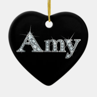 "Amy ""Diamond Bling"" Christmas Ornament"