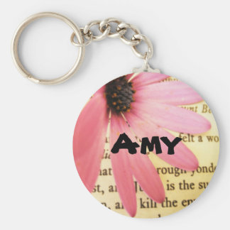 Amy Girls Name Shakespeare Quote Keychain