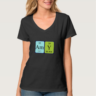 Amy periodic table name shirt
