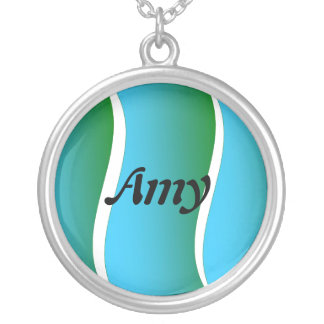 Amy Silver Plated Necklace