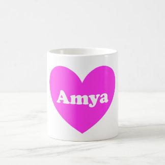 Amya Basic White Mug