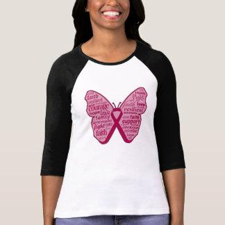 Amyloidosis Awareness Butterfly Ribbon T-shirt