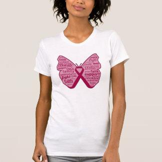 Amyloidosis Awareness Butterfly Ribbon T Shirt