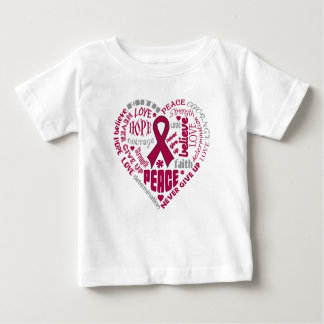 Amyloidosis Awareness Heart Words Shirt
