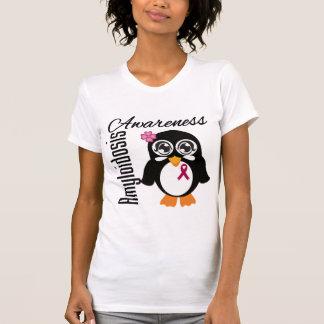 Amyloidosis Awareness Penguin Tees