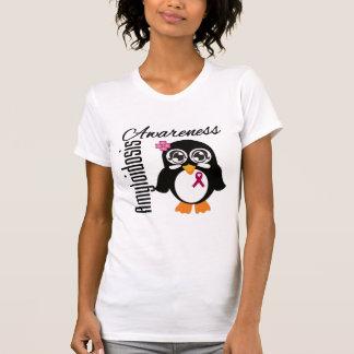 Amyloidosis Awareness Penguin Tshirts