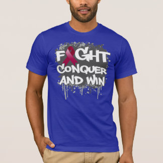 Amyloidosis Fight Conquer and Win T-Shirt