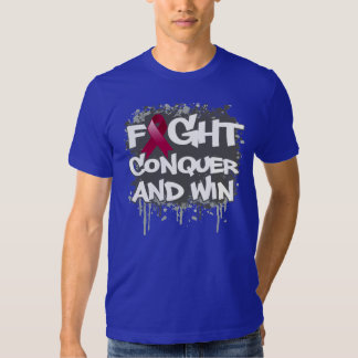 Amyloidosis Fight Conquer and Win T Shirts