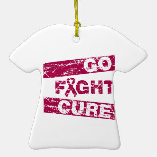 Amyloidosis Go Fight Cure Ornaments