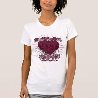 Amyloidosis Heart I Fight Like A Girl Tshirts