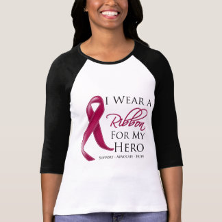 Amyloidosis I Wear a Ribbon For My Hero Tshirts