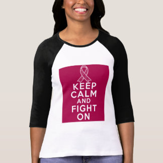 Amyloidosis Keep Calm and Fight On Shirt