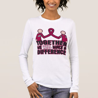 Amyloidosis Together We Will Make A Difference Long Sleeve T-Shirt