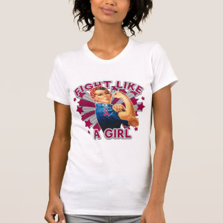 Amyloidosis Vintage Rosie Fight Like A Girl T Shirts