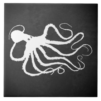 Amy's Octopus 1 L - Large Ceramic Tile